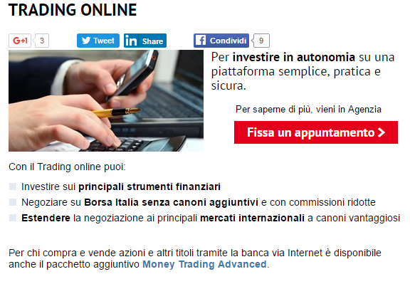 trading Unicredit