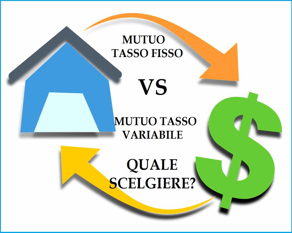 Differenza tra tasso fisso e tasso variabile