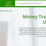 Come inviare soldi con Western Union