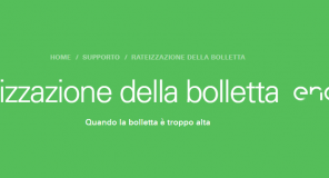Come rateizzare la bolletta Enel