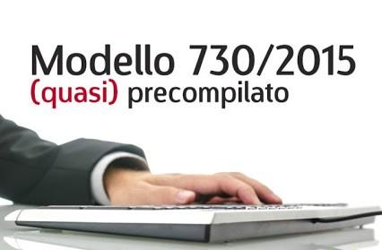 modello 730 precompilato 2015