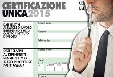 Certificazione unica redditi 2015: scadenza consegna modello