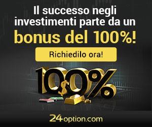 Il successo negli investimenti parte da un bonus del 100%