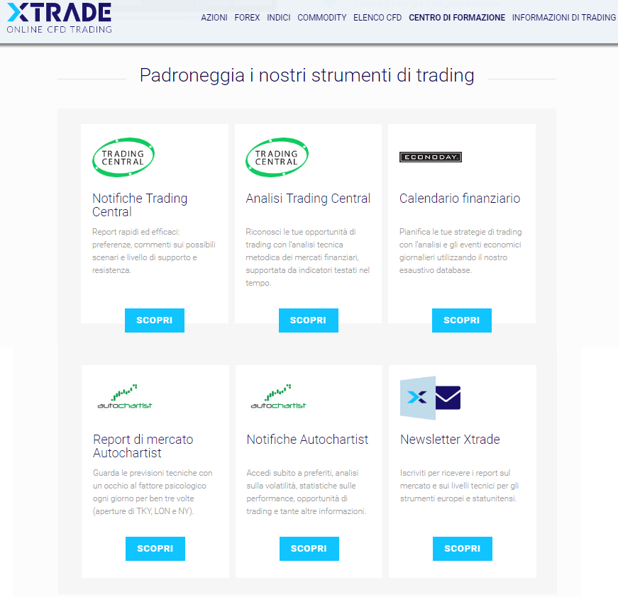 Xtrade-strumenti-trading