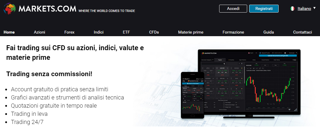 markets-piattaforma-trading