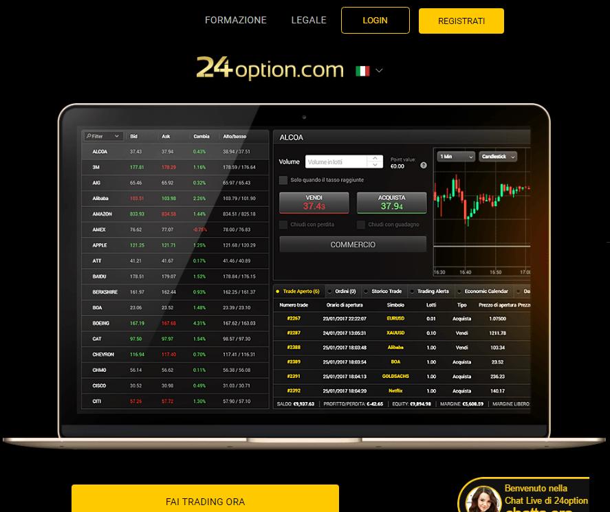 24Option-trading-forex-piattaforma