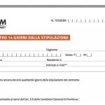 Modulo recesso Mediaset Premium per aumento del canone