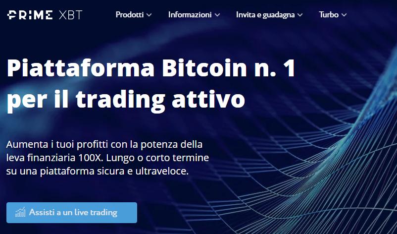 PrimeXBT: opinioni e recensioni piattaforma trading di margine
