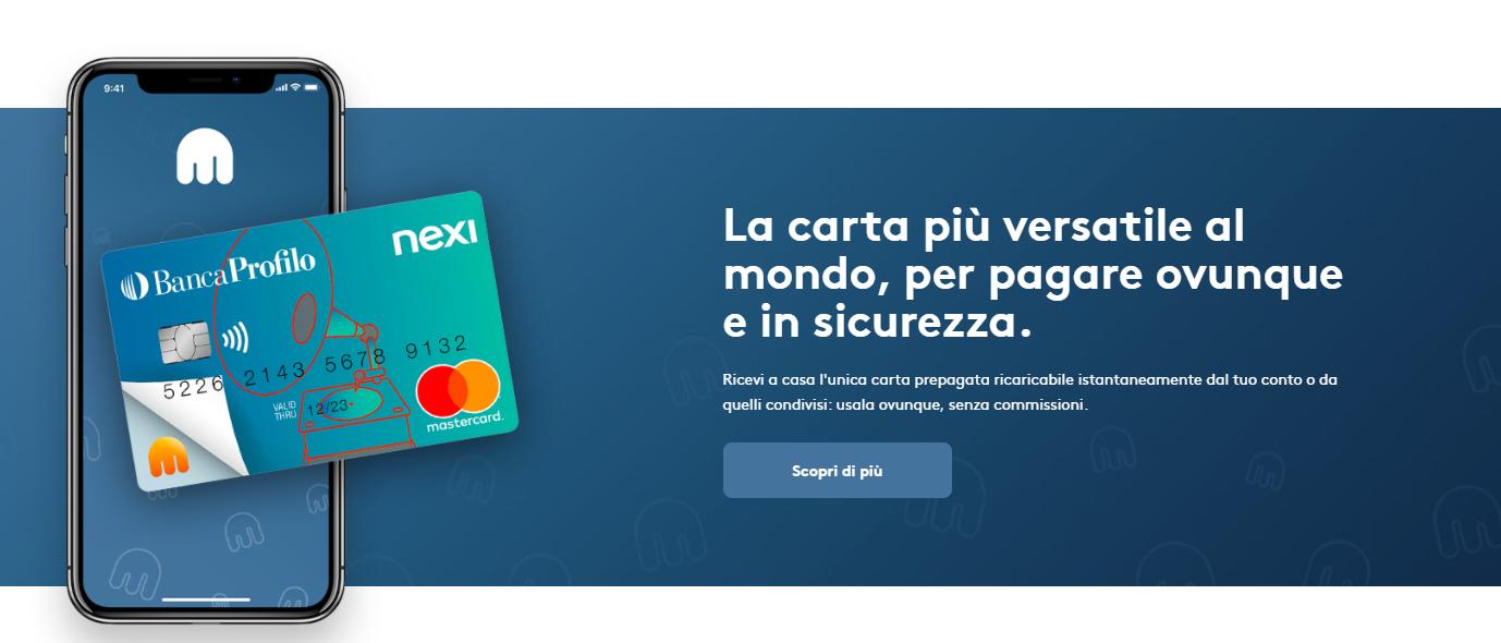 Tinaba: recensioni e opinioni costi carta conto e app